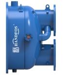 具有胶球在线清洗功能的水冷冷水机组管壳式蒸发器(冷凝器)前端封头管箱 HCTCS-WB-RJ(日洁型)