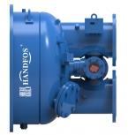 具有胶球在线清洗功能的水冷冷水机组管壳式冷凝器(蒸发器)前端封头管箱 HCTCS-WB-SJ(时洁型)