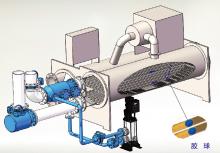 多功能胶球自动在线清洗系统装置HCTCS-F-C-RM